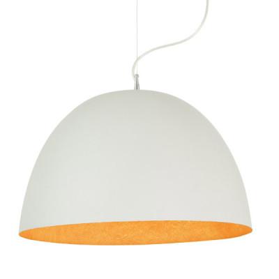 In-es.artdesign - H2O - H2O - Lampada a sospensione - Bianco/Arancio - LS-IN-ES050BI-A