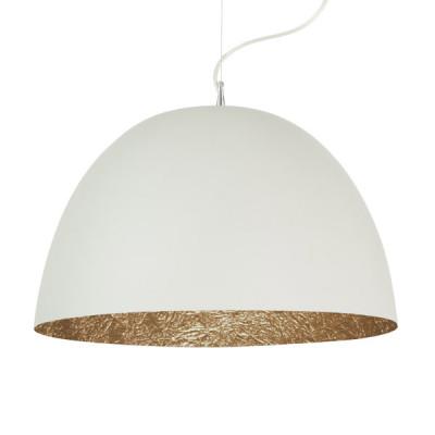 In-es.artdesign - H2O - H2O - Lampada a sospensione - Bianco / Bronzo - LS-IN-ES050BI-BR