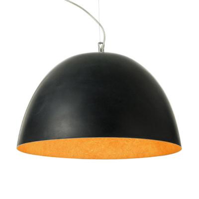 In-es.artdesign - H2O - H2O - Lampada a sospensione - Nero/Arancio - LS-IN-ES050N-A