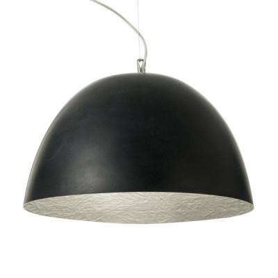 In-es.artdesign - H2O - H2O - Lampada a sospensione - Nero / argento  - LS-IN-ES050N-AR
