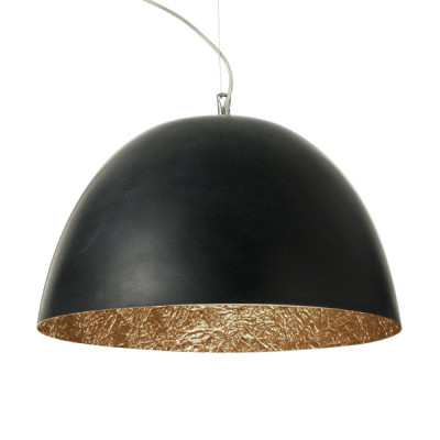 In-es.artdesign - H2O - H2O - Lampada a sospensione - Nero / bronzo - LS-IN-ES050N-BR