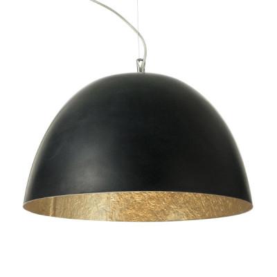 In-es.artdesign - H2O - H2O - Lampada a sospensione - Nero/Oro - LS-IN-ES050N-O