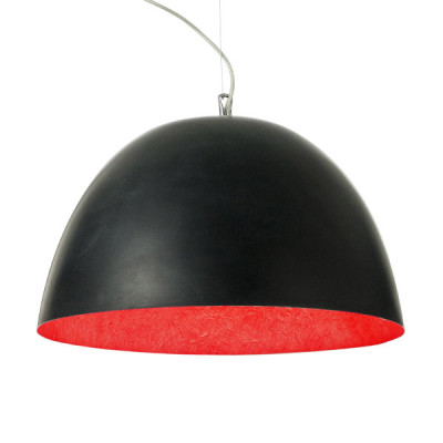 In-es.artdesign - H2O - H2O - Lampada a sospensione - Nero/Rosso - LS-IN-ES050N-R