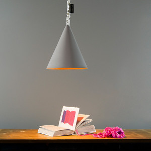 In-es.artdesign - Jazz Stripe - Jazz Cemento SP - Lampada sospensione