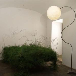 In-es.artdesign - Luna - Luna Piantana - Lampada da salone
