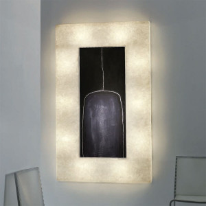 In-es.artdesign - Lunar - Lunar bottle 2 - Cornice luce