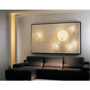 In-es.artdesign - Lunar - Lunar dance 2 - Quadro luce