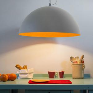 In-es.artdesign - Mezza Luna - Mezza Luna 1 Cemento SP - Lampadario di design