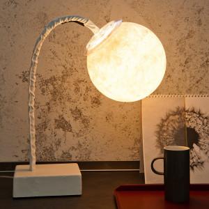 In-es.artdesign - Micro Luna - Micro T. Luna - Lampada da tavolo flessibile