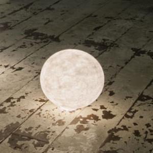 In-es.artdesign - Out Ex moon - Ex moon 1 - Lampada da terra per esterni S