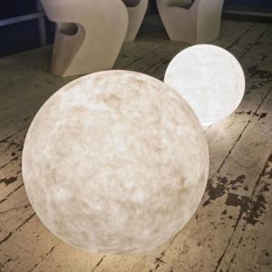 In-es.artdesign - Out Ex moon - Ex moon 3 - Lampada da terra per esterni L