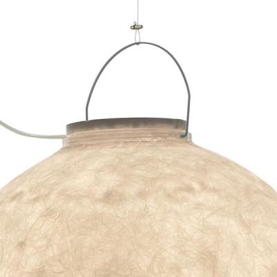 In-es.artdesign - Out - Luna 4 Out SP - Lampada a sospensione da esterno  XL - Argento - LS-IN-ES050022-O9