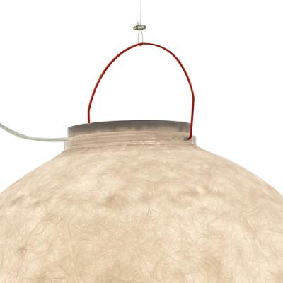 In-es.artdesign - Out - Luna 4 Out SP - Lampada a sospensione da esterno  XL - Rosso - LS-IN-ES050022-O2