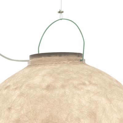 In-es.artdesign - Out - Luna 4 Out SP - Lampada a sospensione da esterno  XL - Turchese - LS-IN-ES050022-O4