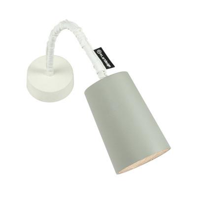 In-es.artdesign - Paint - Paint A Cemento AP - Applique colorata - Grigio/Bianco - LS-IN-ES040A31G-B