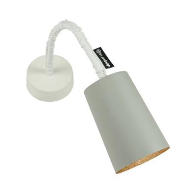 In-es.artdesign - Paint - Paint A Cemento AP - Applique colorata - Grigio / bronzo - LS-IN-ES040A31G-BR