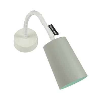 In-es.artdesign - Paint - Paint A Cemento AP - Applique colorata - Grigio/Turchese - LS-IN-ES040A31G-T
