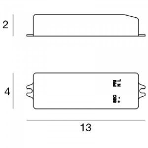 Linea Light - Accessori Linea Light - Kit 0023 - Led Driver - Nessuna - LS-LL-KIT0023