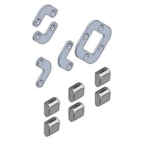 Linea Light - Accessori Linea Light - Kit 0028 - Staffa di fissaggio per installazione modulare - Nessuna - LS-LL-KIT0028