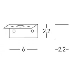 Linea Light - Accessori Linea Light - Kit 01 di fissaggio 01 - Nessuna - LS-LL-Kit01