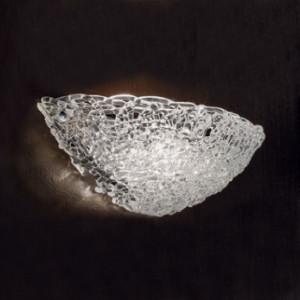 Linea Light - Artic - Applique a muro in vetro Artic - Cristallo - LS-LL-4662