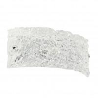 Linea Light - Artic - Applique a muro in vetro Artic S