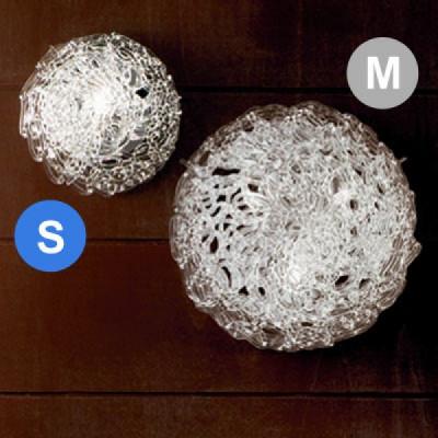 Linea Light - Artic - Plafoniera e applique in cristallo Artic S