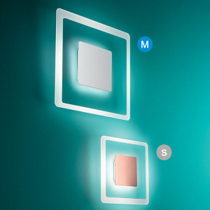 Linea Light - Aruba - Aruba AP PL LED M - Lampada da parete quadrata