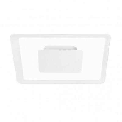 Linea Light - Aruba - Aruba AP PL LED S - Applique a parete quadrata - Bianco - LS-LL-8920 - Bianco caldo - 3000 K - Diffusa