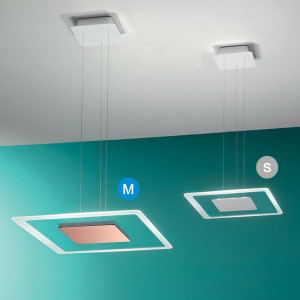 Linea Light - Aruba - Aruba SP LED M - Lampadario moderno quadrato