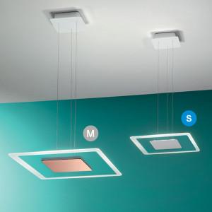Linea Light - Aruba - Aruba SP LED S - Lampada a sospensione quadrata
