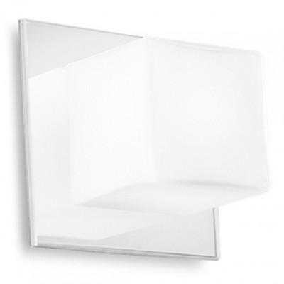 Linea Light - Bathroom - Lampada da parete Cubic - Bianco - LS-LL-6413