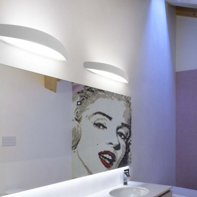 Linea Light - Bathroom - Prime - Lampada applique per il bagno S