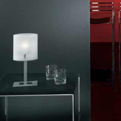 Linea Light - Bilancia - Lampada da tavolo Bilancia - Cromo - LS-LL-5090