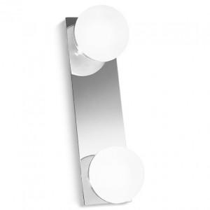 Linea Light - Boll - Plafoniera e applique per il bagno Boll 3 luci - Cromo - LS-LL-5010
