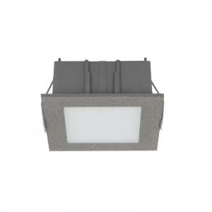 Linea Light - Box - Box C FA LED - Faretto a incasso LED da soffitto - Cemento -  - Bianco caldo - 3000 K - Diffusa