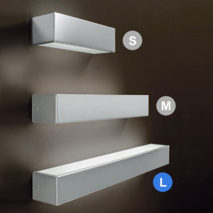 Linea Light - Box - Box L - Lampada a parete a biemissione