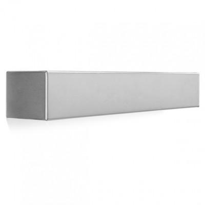 Linea Light - Box - Box L - Lampada a parete a biemissione - Nichel satinato - LS-LL-6729
