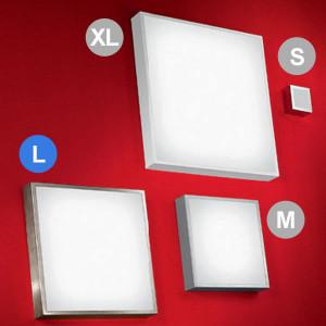 Linea Light - Box - Box L - Lampada da parete o soffitto