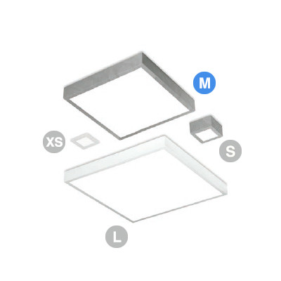 Linea Light - Box - Box LED PL AP M square - Lampada quadrata a led