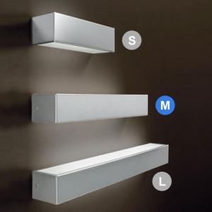 Linea Light - Box - Box M - Lampada a parete biemissione