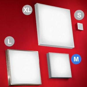 Linea Light - Box - Box M - Lampada da parete o soffitto
