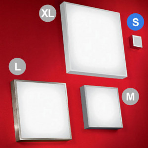 Linea Light - Box - Box S - Applique da parete o lampada soffitto