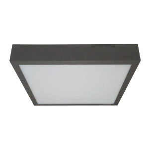 Linea Light - Box - Box SQ AP PL LED L - Plafoniera quadrata a Led misura L
