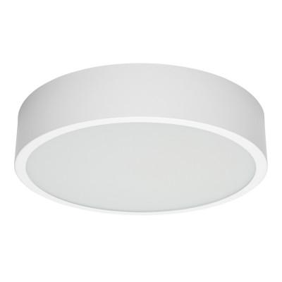 Linea Light - Box - Box SR AP PL LED L - Plafoniera rotonda misusa L - Bianco -  - Bianco naturale - 4000 K - Diffusa