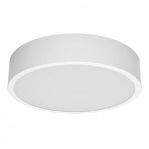 Linea Light - Box - Box SR AP PL LED L - Plafoniera rotonda misusa L - Bianco -  - Bianco caldo - 3000 K - Diffusa