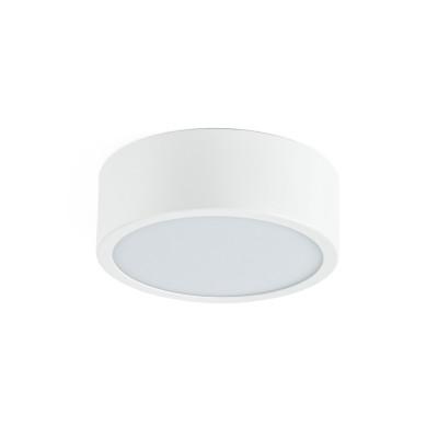 Linea Light - Box - Box SR AP PL LED M - Plafoniera rotonda misusa M - Bianco -  - Bianco naturale - 4000 K - Diffusa