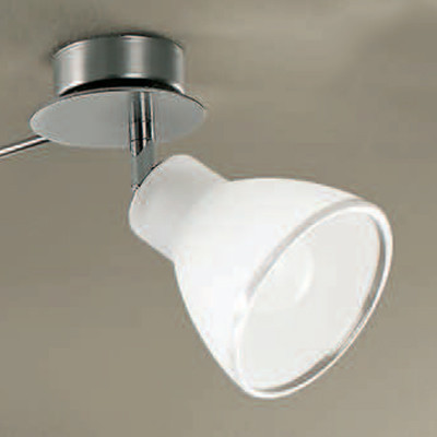 Linea Light - Campana - Campana - Applique orientabile a una luce - Nichel satinato - LS-LL-4425