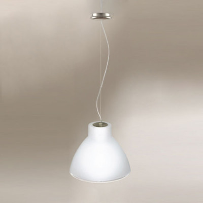 Linea Light - Campana - Campana L - Lampada a sospensione - Nichel satinato - LS-LL-4433