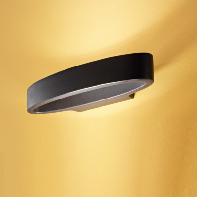 Linea Light - Circular - Heli LED - Lampada a parete dimmerabile - Marrone - LS-LL-8458 - Bianco caldo - 3000 K - Diffusa